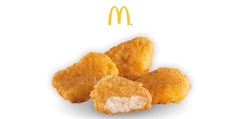 McNuggets gratis da McDonald's