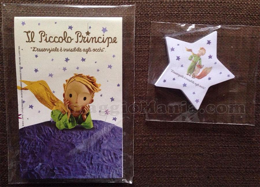 blocco note Piccolo Principe in omaggio da Pernigotti