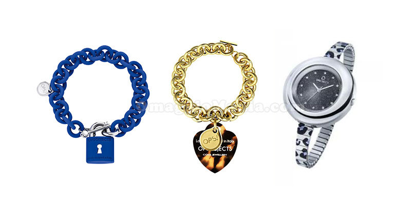 bracciali e orologio Ops! Objects