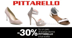 buono sconto Pittarello 30% scarpe donne a scelta