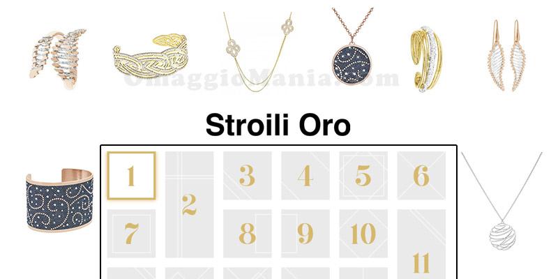 calendario avvento Stroili Oro 2015