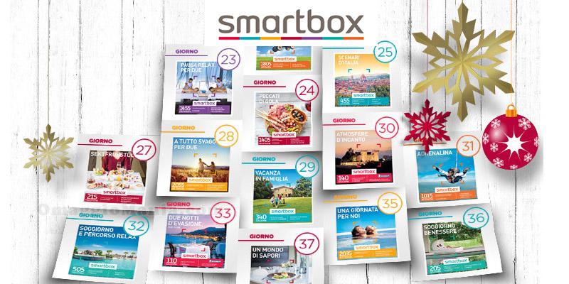 calendario dell'Avvento Smartbox 2015