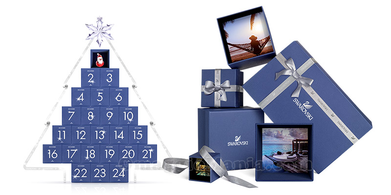calendario dell'Avvento Swarovski 2015