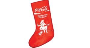 calza della befana Coca Cola in omaggio