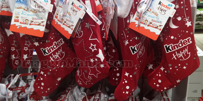 calze della Befana Kinder Happy