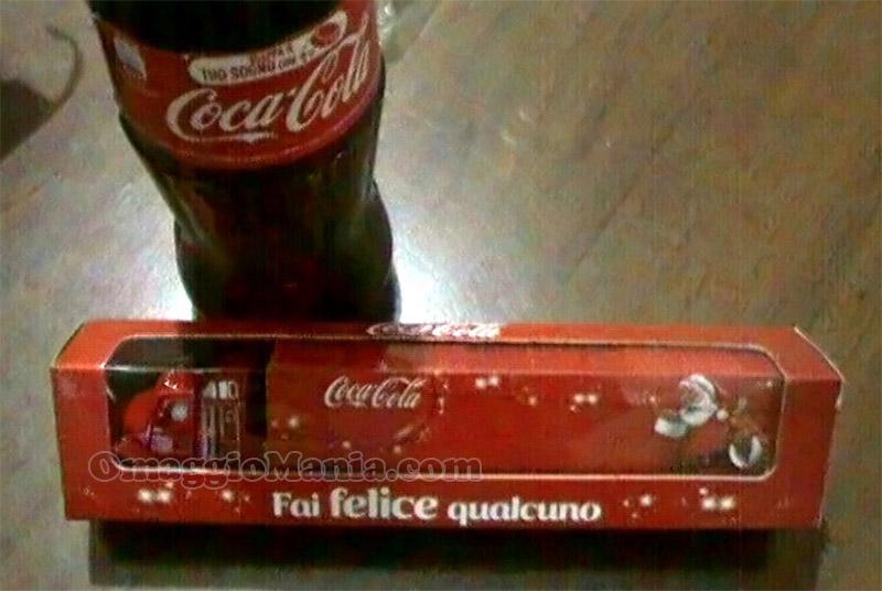 camioncino Coca Cola ricevuto da Jennifer