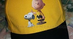 cappellino di Snoopy vinto da Debora