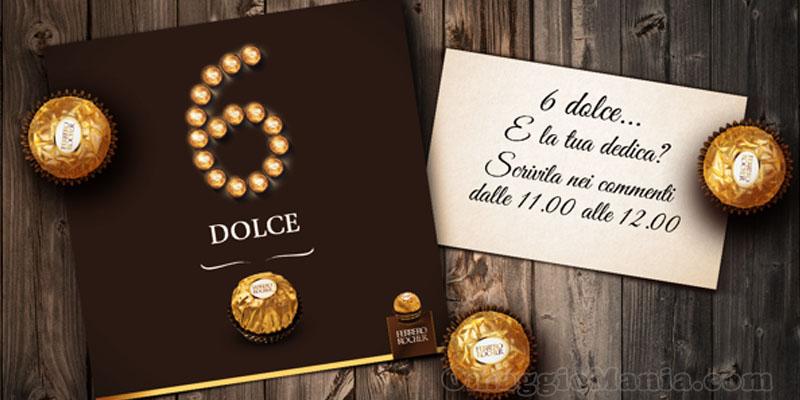 card personalizzata Ferrero Rocher