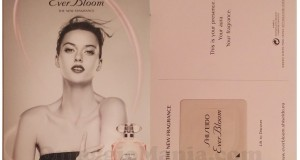 cartolina profumata Shiseido Ever Bloom di Ilaria