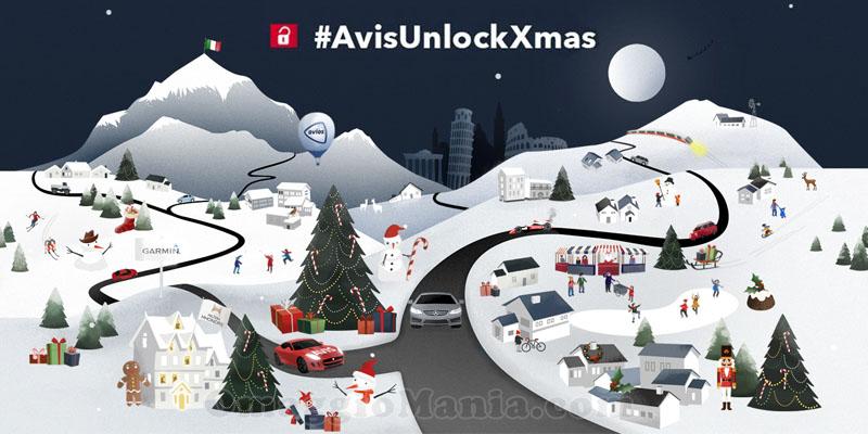 concorso Avis Unlock Christmas