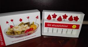 forchettine ricevute in omaggio da Conad da Stefania