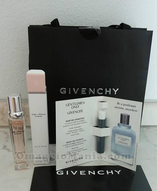 minitaglia profumo Givenchy di Cristina