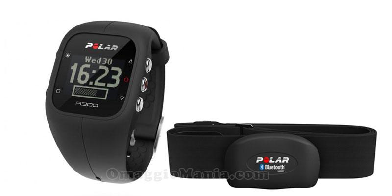 orologio Polar A300 e fascia cardiaca H7