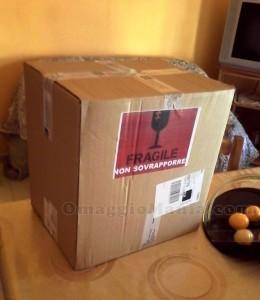 pacco contenente il kit Modì