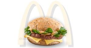 panino omaggio McDonald's Festive Supreme o Deluxe
