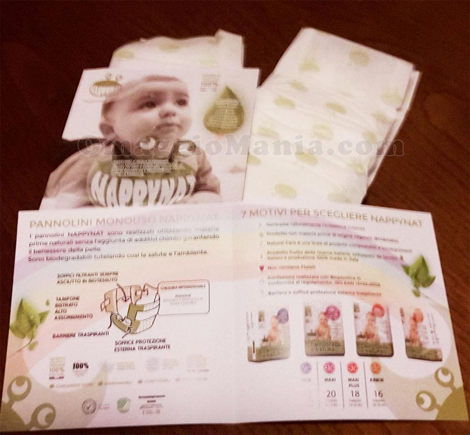 pannolini Nappynat ricevuti gratis da Vanesita