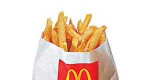 patatine gratis da McDonald's
