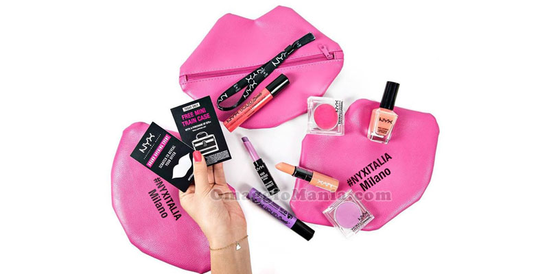 pochette NYX Cosmetics Milano