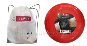 shopping bag o frisbee omaggio da Timex