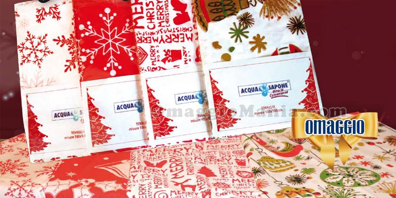 tovaglia di Natale omaggio da Acqua&Sapone