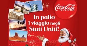 vinci viaggio negli USA con Coca Cola