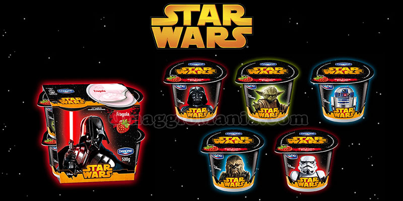 yogurt Star Wars Danone
