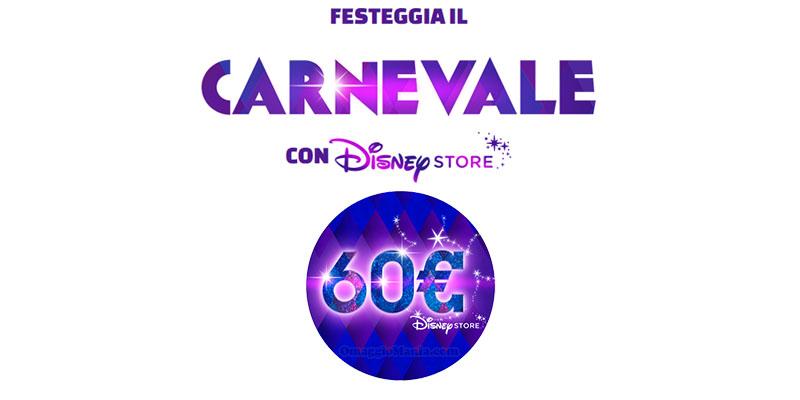 Festeggia il Carnevale con Disney Store
