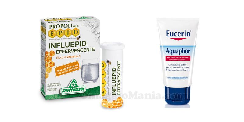 Influepid Aquaphor Eucerin