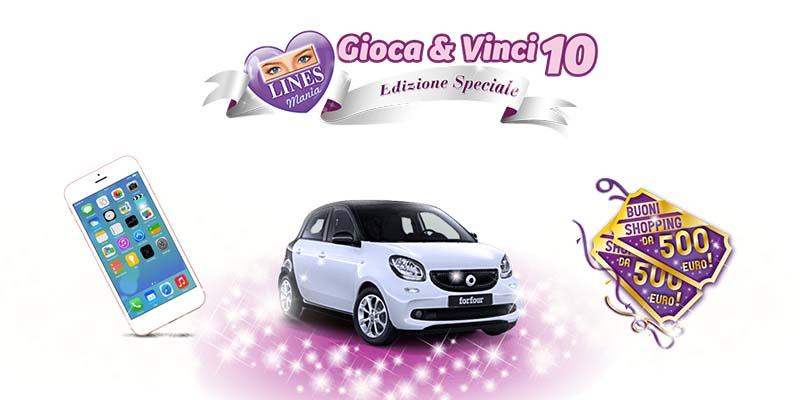 Lines Mania Gioca&Vinci 10