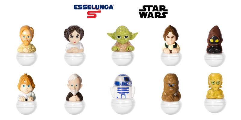 Star Wars Rollinz da Esselunga
