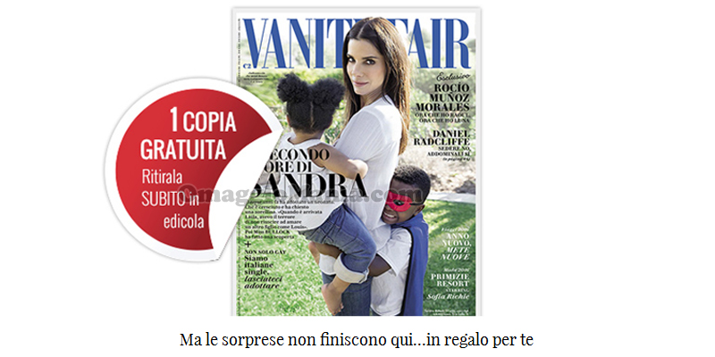 Vanity Fair coupon n.12 e sorpresa