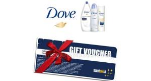 Vinci voucher TicketOne con Dove