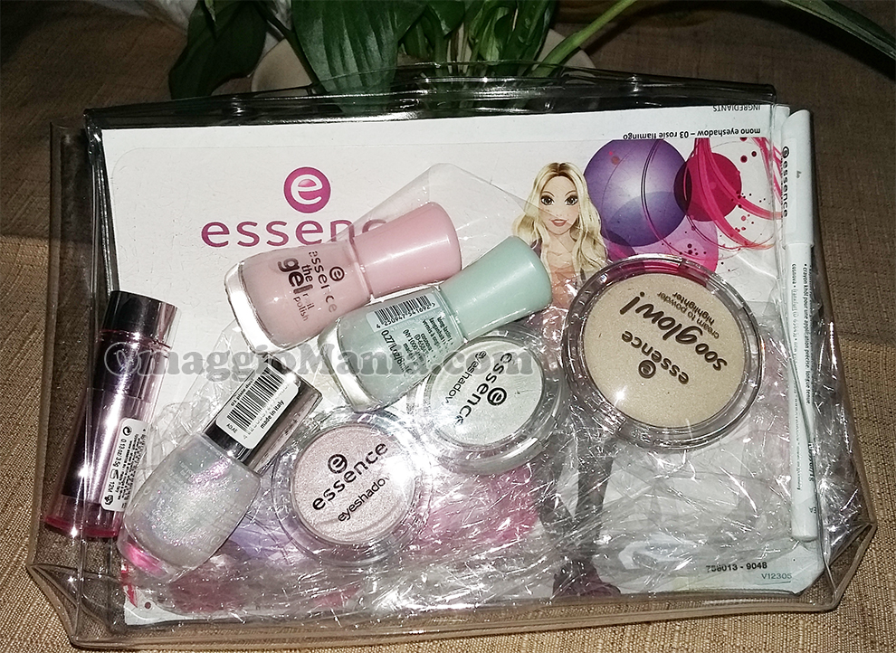 beauty kit Essence vinto e ricevuto da Danieladnt