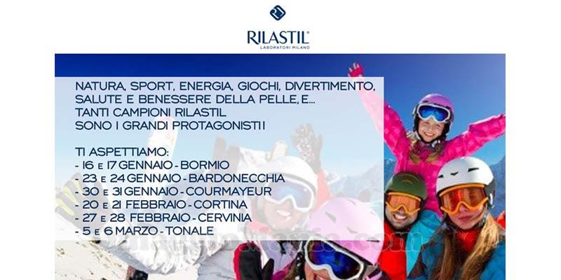 campioni omaggio Rilastil RDS Play on Tour edizione invernale 2016