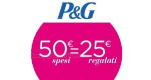 collection Victoria P&G 50 spesi 25 regalati