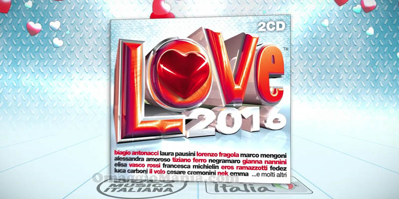compilation Love 2016 Radio Italia