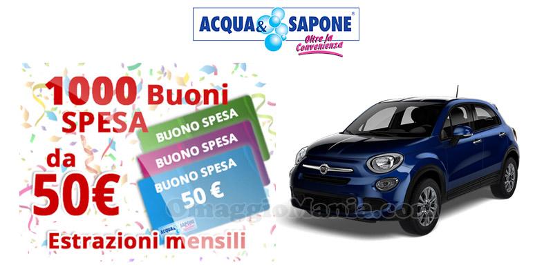 concorso vinci con Acqua & Sapone 2016