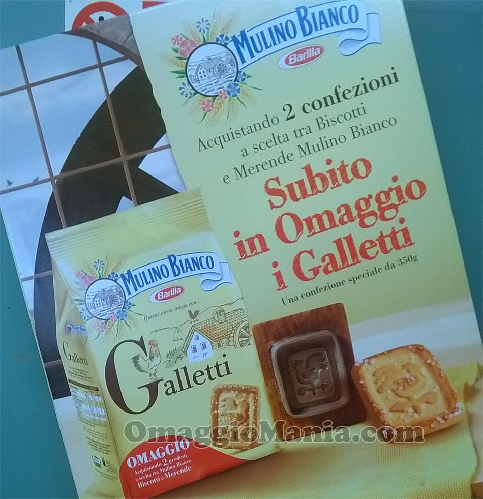 confezione omaggio Galletti Mulino Bianco