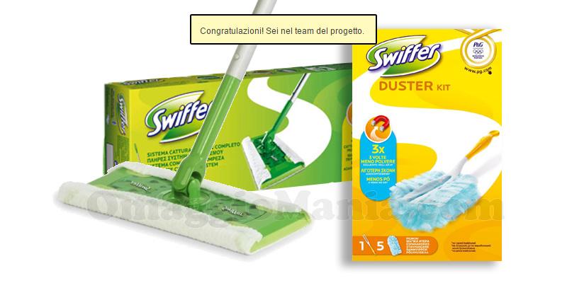 congratulazioni test Swiffer Duster