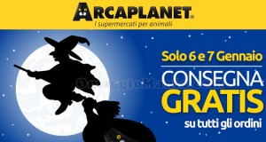 consegna gratis Arcaplanet senza minimo di spesa