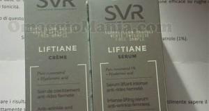 cosmetici SVR Liftiane ricevuti da Lucia