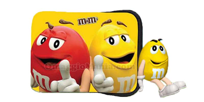 custodia tablet M&M's