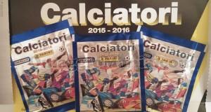 figurine Panini Calciatori 2015-2016 ricevute da Angela
