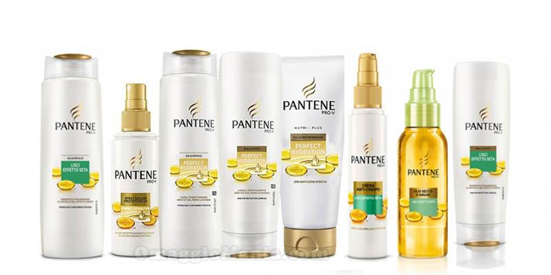 fornitura di prodotti Pantene