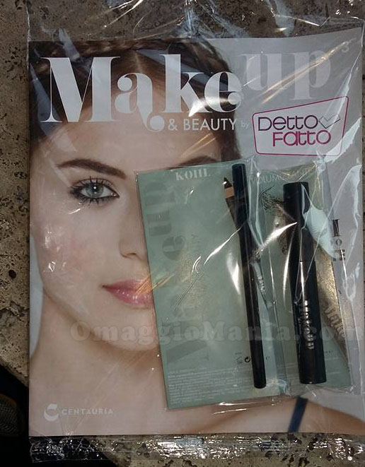 mascara e matita con Make up & Beauty di Viola