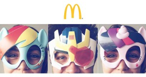 maschere Transformers e My Little Pony da McDonald's
