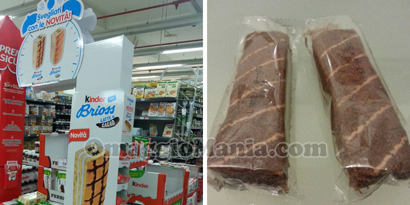 merendine gratis Kinder Brioss Latte e Cacao o Ferrero Brioss Cacao Magro e Cereali