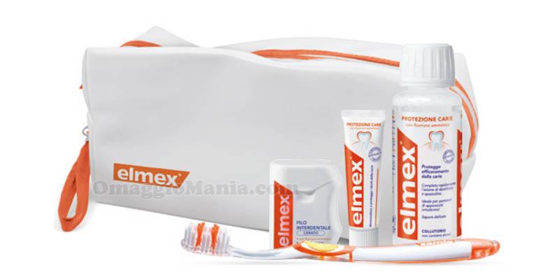 set igiene orale Elmex omaggio 2016