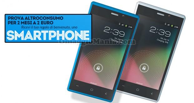 smartphone con prova Altroconsumo