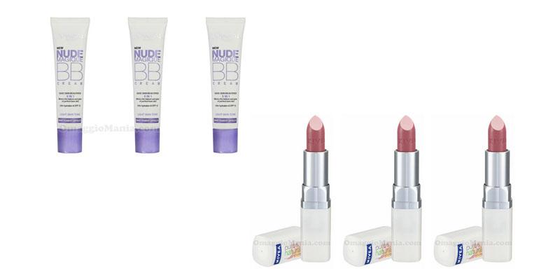 test Nude Magique BB Cream e rossetto Nivea